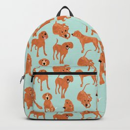 Redbone  Coonhound Pattern Backpack