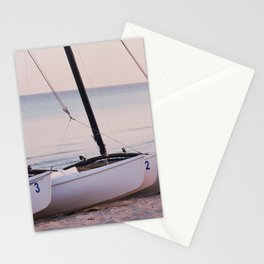 Countdown to the adventure - Sailboats - Caribbean - Fine Art Travel Photograpphy Stationery Cards
