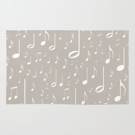 Musical notes Rug