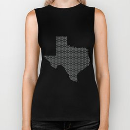 VOTE Texas! (Gray) Biker Tank