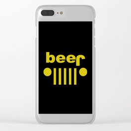 jeep beer Clear iPhone Case