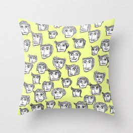 People are watching -2- Throw Pillow