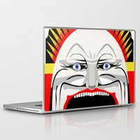 melbourne Laptop & iPad Skins featuring Melbourne (Full Face Version) by George Williams