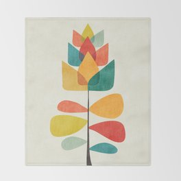 Spring Time Memory Throw Blanket