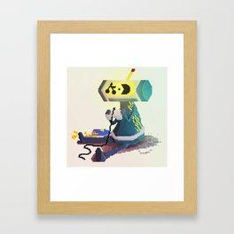 Mag Framed Art Print