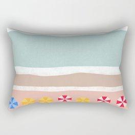Beach Resort Rectangular Pillow
