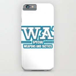 SWAT police special forces command iPhone Case