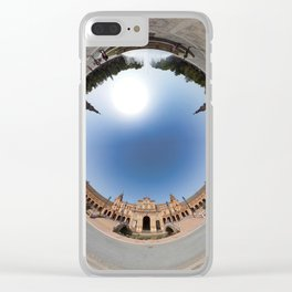 Spain square in Seville in 360 Clear iPhone Case