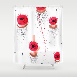 CanUSeeIt? Shower Curtain
