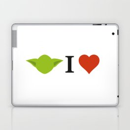 Yoda I Love Laptop & iPad Skin