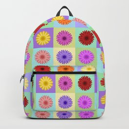 Gerbera Daisies Bright Color Design Backpack