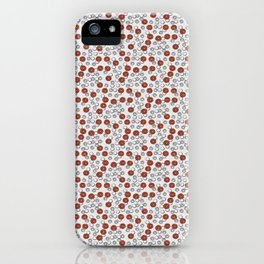Rad Red Rounds iPhone Case
