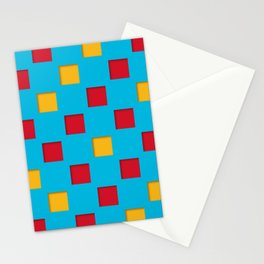 checkered pattern #19 Stationery Cards