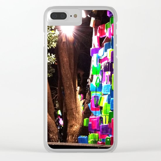 Light up Lunches Clear iPhone Case