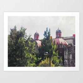 cupula Art Print