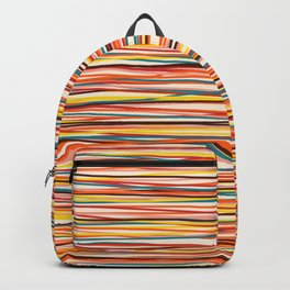 Colored Lines #1 Backpack