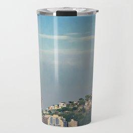 Guayaquil Panoramic Cityscape Skiline, Ecuador Travel Mug