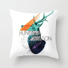 Hunting Season Throw Pillow
