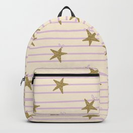 Pink Lines Backpack