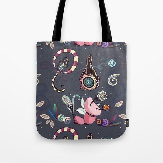 camtric fantasy pattern Tote Bag