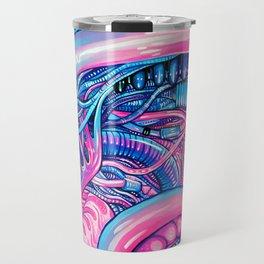 Cotton Candy Alien Travel Mug