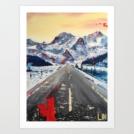 Only Grey Stays the Same Art Print