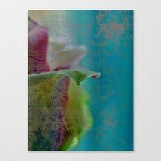 Green Rose Canvas Print