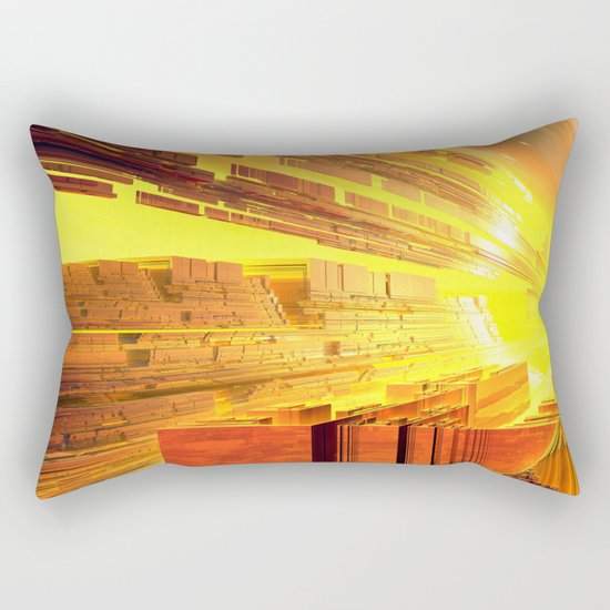 Retro Future Perfect Rectangular Pillow