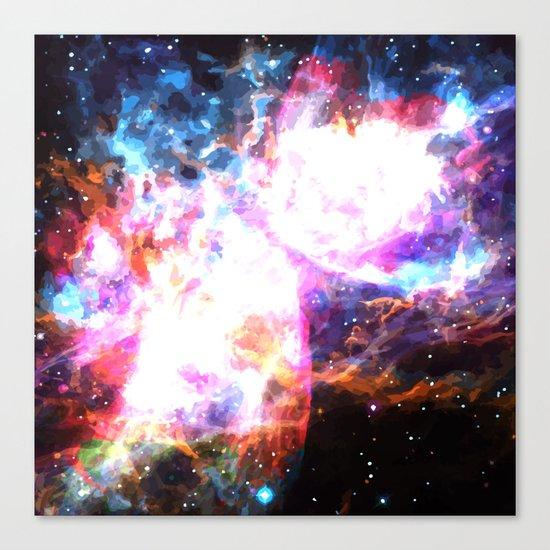 Supernovae Canvas Print