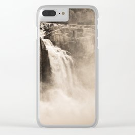 Shoshone Falls Clear iPhone Case