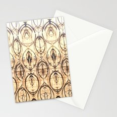 pallet circles Stationery Cards