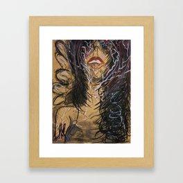 Unexplainable Surge of Mine Framed Art Print
