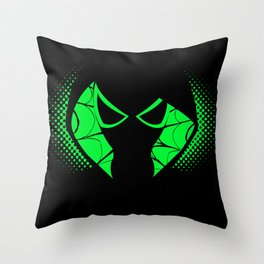 Spider Gwen-Spider Sense Throw Pillow
