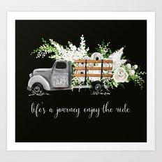 White Flower Farm Art Print