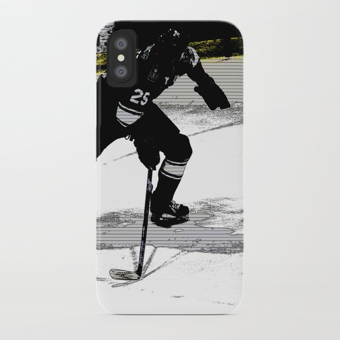 size 40 d0c4e b866f On the Move - Hockey Player iPhone Case