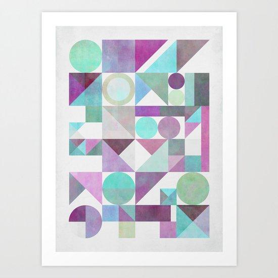 Nordic Combination 21 X Art Print