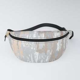 Grey brown Colors Gradient pattern.  light-grey, modern, decor, Society6 Fanny Pack