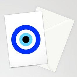 Evil Eye White Stationery Cards