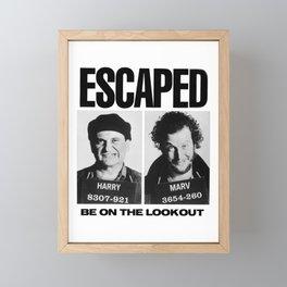 Wet Bandit Escape Framed Mini Art Print
