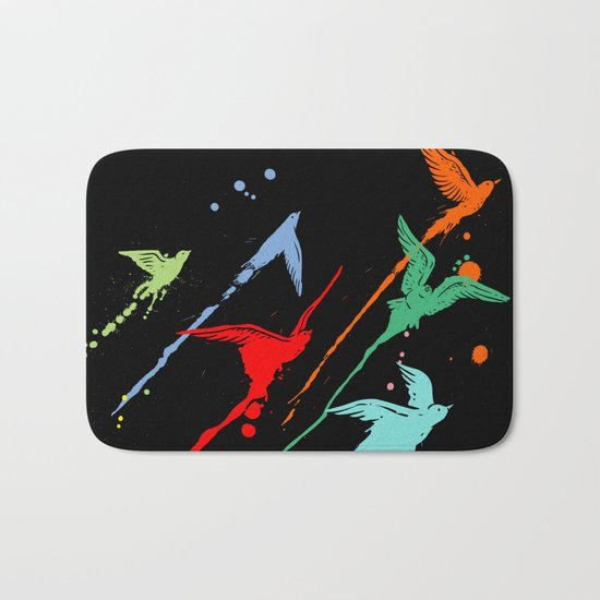 Flying colors Bath Mat