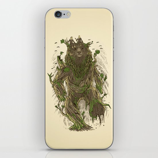 Treebear iPhone & iPod Skin