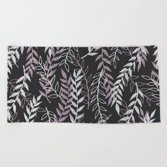 Leafage Beach Towel
