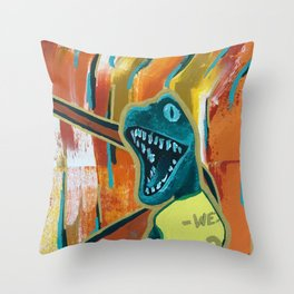You Shred Raptors? Throw Pillow