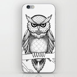 Owl Be Seeing You iPhone Skin