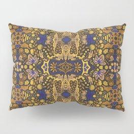Indian Summer, Bohemian Arabesque Pattern, Golden Yellow Pillow Sham