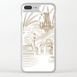 Royal Ballroom Clear iPhone Case