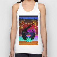 """wings Tank Tops featuring """" Wings """"  by shiva camille"""