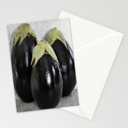 Three Eggplants   The Good, The Bad, & The Ugly   True story! Stationery Cards