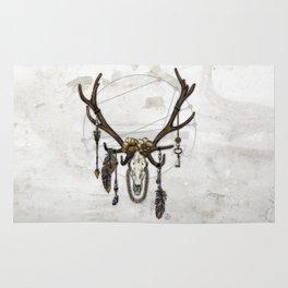 Bestial Crowns: The Elk Rug
