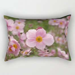 Japanese Anemone Rectangular Pillow